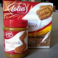 Lotus Speculoos cookies and spread