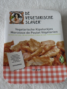 Vegetarische slager kipstukjes