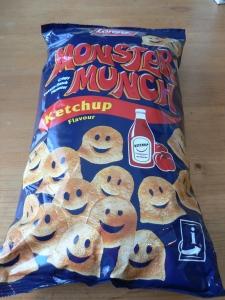 monster munch ketchup
