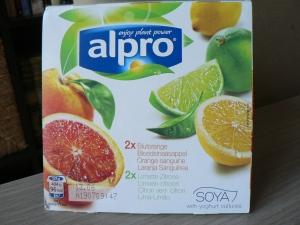 alpro citrus yogurts