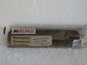 delhaize marzepain with chocolate