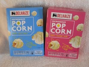 delhaize micro popcorn