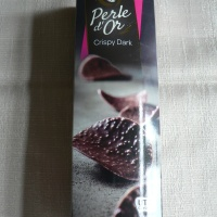 Perle d'Or Dark Chocolate Crisps (Lidl)