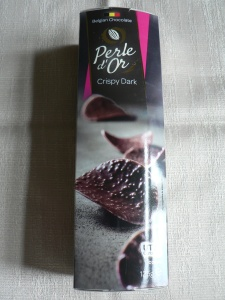 lidl perle d'or dark chocolate crisps