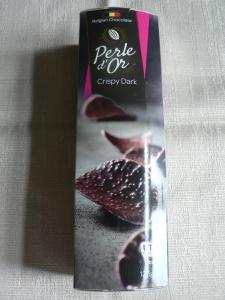 lidl perle d'or dark chocolate crisps