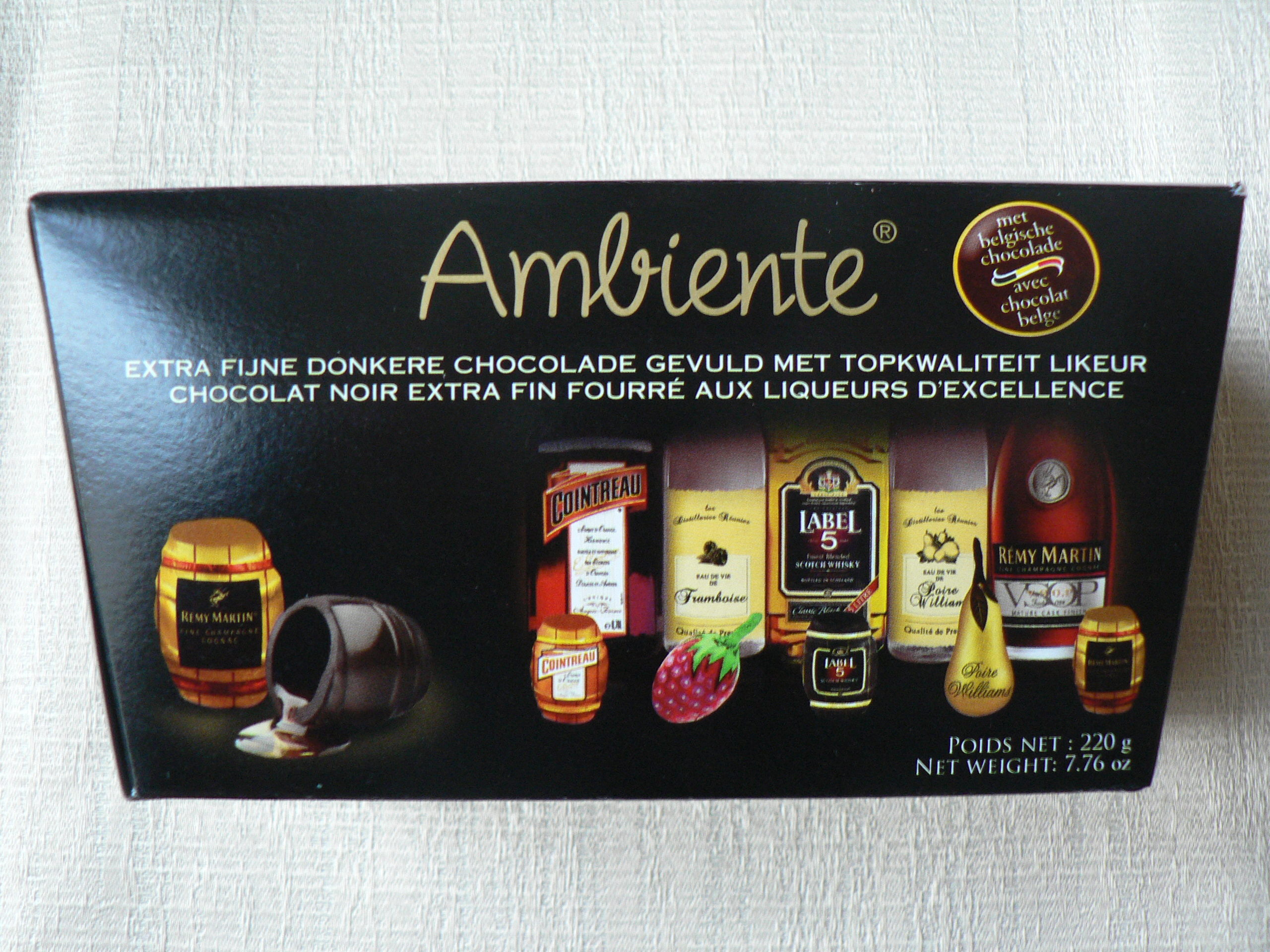 Ambiente Liquor-filled Chocolates (Aldi) – Vegan Stuff in Belgium