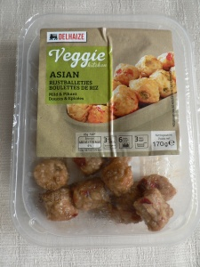 Delhaize veggie kitchen Asian Rijstballetjes