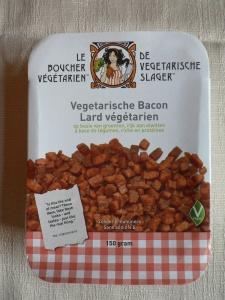 vegetarische slager spek