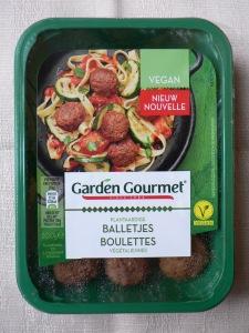 garden gourmet balletjes