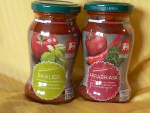delhaize basilico and arrabiata
