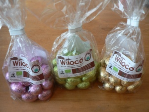 wiloco choc praline egg trio