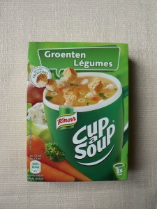 Knorr veggie cup a soup