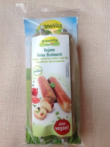 granovita vegan bratwurst
